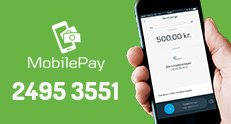 Støt Børnehjælpsdagen og donér med MobilePay